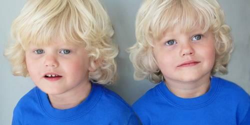 Поздравления с днем рождения близнецам-сыновьям