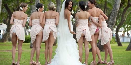 Прикольные пожелания невесте на свадьбу