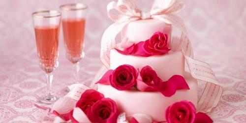 Годовщина свадьбы 10 лет - оловянная свадьба/розовая свадьба
