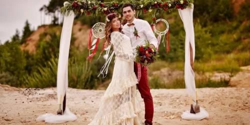 Организация свадьбы в стиле Бохо. Богемный стиль свадьбы.