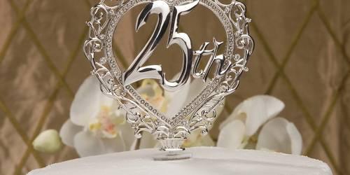 Серебряная свадьба:тосты на свадебную годовщину 25