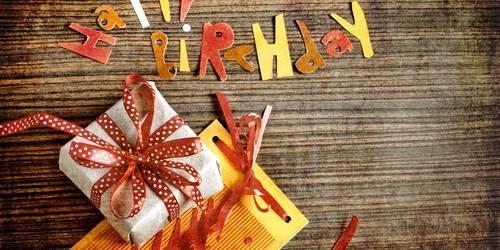 СМС поздравления с днем рождения (смс в стихах)