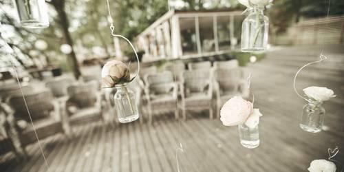 Тренды свадебного декора. Прозрачность